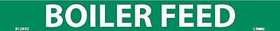 Pipemarker, Boiler Feed, 1X9, 3/4 Letter, Adhesive Vinyl