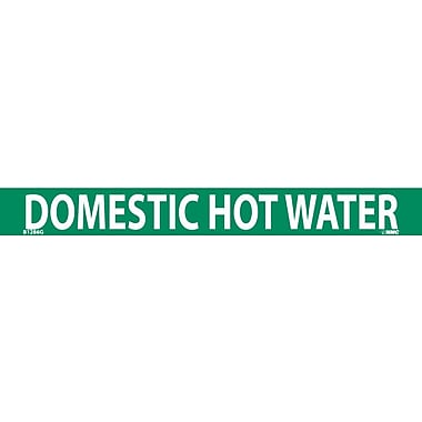 Pipemarker, Domestic Hot Water, 1