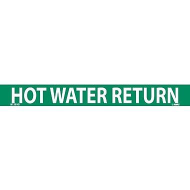Pipemarker, Hot Water Return, 1