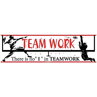 Banner, Teamwork There Is No