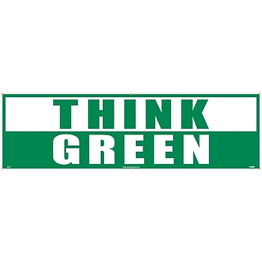 Think Green, 3Ft X 10 Ft, Polyethylene