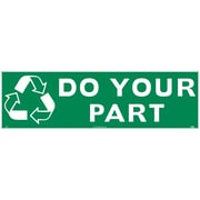 (Graphic) Do Your Part, 3Ft X 10Ft, Polyethylene