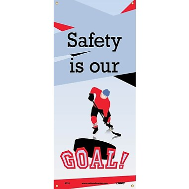 Banner, Safety Is Our Goal, 60