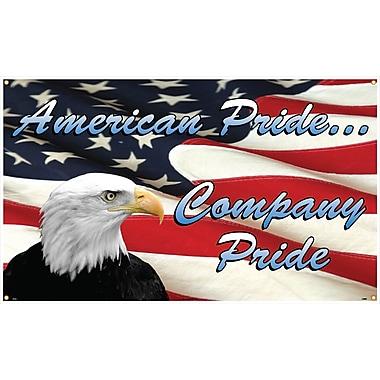 Banner, American Pride Company Pride, 3Ft X 5Ft