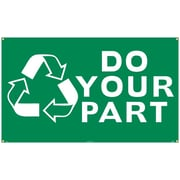 (Graphic) Do Your Partk, 3Ft X 5Ft, Polyethylene