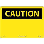 Caution, (Header Only), 10X14, Fiberglass