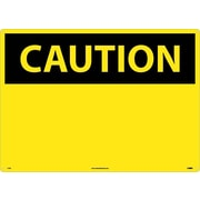 Caution, (Header Only), 20X28, Rigid Plastic