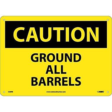 Caution, Ground All Barrels, 10