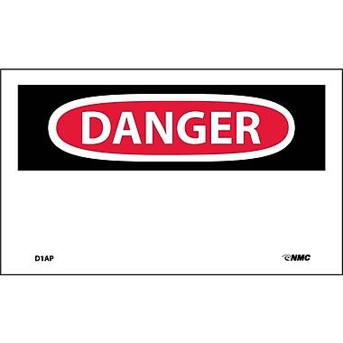 Labels Danger, Header Only, 3