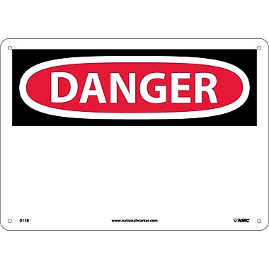 Danger, (Header Only), 10X14, Fiberglass