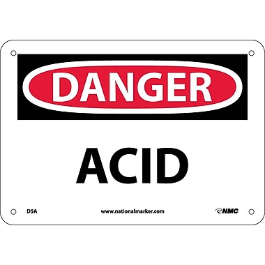 Danger, Acid, 7