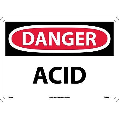 Danger, Acid, 10