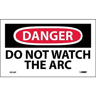 Labels Danger, Do Not Watch The Arc, 3