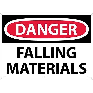 Danger, Falling Materials, 20X28, Rigid Plastic