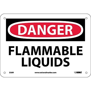 Danger, Flammable Liquids, 7