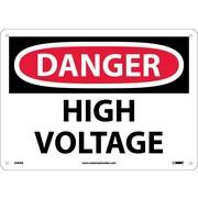 Danger, High Voltage, 10X14, .040 Aluminum