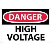 Danger, High Voltage, 14X20, .040 Aluminum