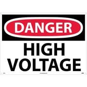Danger, High Voltage, 20X28, .040 Aluminum