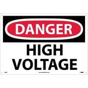 Danger, High Voltage, 14X20, Rigid Plastic
