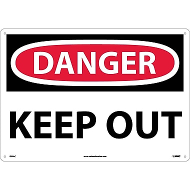 Danger, Keep Out, 14