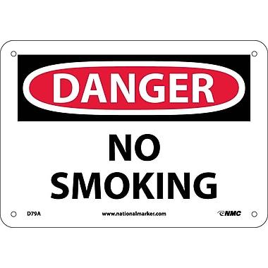 Danger, No Smoking, 7