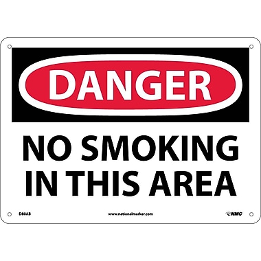 Danger, No Smoking In This Area, 10