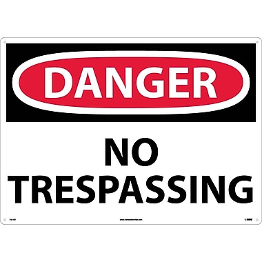Danger, No Trespassing, 20