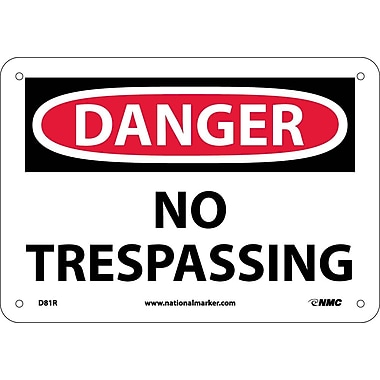 Danger, No Trespassing, 7