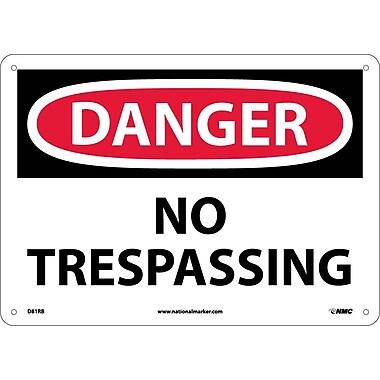 Danger, No Trespassing, 10