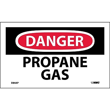 Labels Danger, Propane Gas, 3