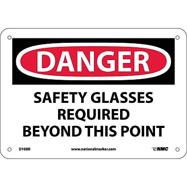 Danger, Safety Glasses Required Beyond This Point, 7
