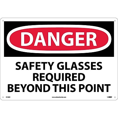 Danger, Safety Glasses Required Beyond This Point, 14