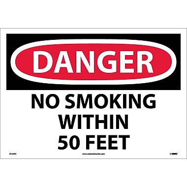 Danger, No Smoking Within 50 Feet, 14
