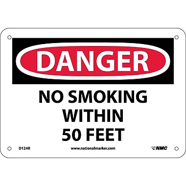 Danger, No Smoking Within 50 Feet, 7