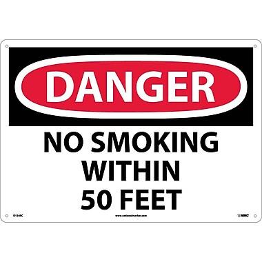 Danger, No Smoking Within 50 Feet, 14