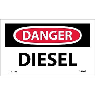 Labels Danger, Diesel, 3