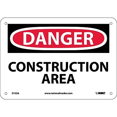 Danger, Construction Area, 7