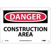 Danger, Construction Area, 7X10, .040 Aluminum