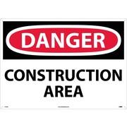 Danger, Construction Area, 20X28, .040 Aluminum