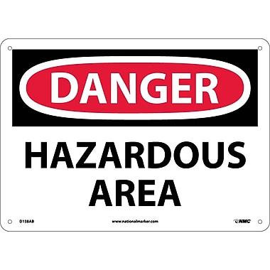 Danger, Hazardous Area, 10