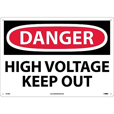 Danger, High Voltage Keep Out, 14