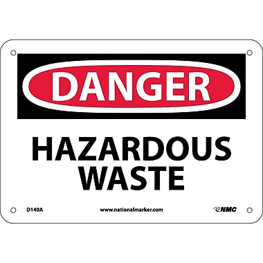 Danger, Hazardous Waste, 7