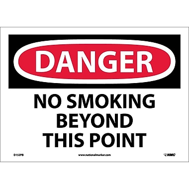 Danger, No Smoking Beyond This Point, 10