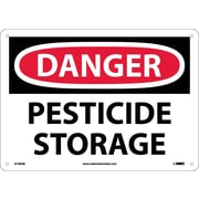 Danger, Pesticide Storage, 10X14, .040 Aluminum