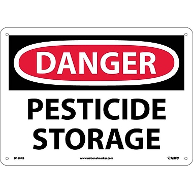Danger, Pesticide Storage, 10