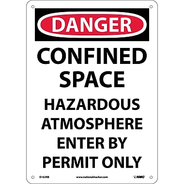 Danger, Confined Space Hazardous Atmosphere..., 14