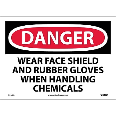 Danger, Wear Face Shield And Rubber Gloves When..., 10