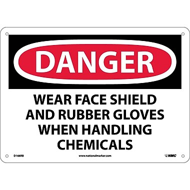 Danger, Wear Face Shield And Rubber Gloves When.., 10