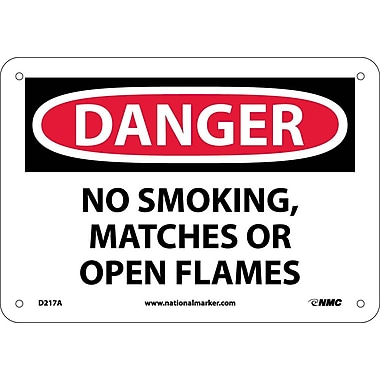 Danger, No Smoking Matches Or Open Flames, 7