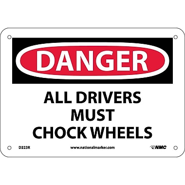 Danger, All Drivers Must Chock Wheels, 7